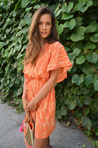 Chico Soleil Mina Dress - Orange