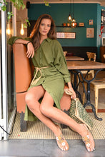 Load image into Gallery viewer, Chico Soleil Hadrienne Dress - Khaki