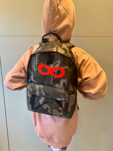 Delphine Fox Camouflage Mask Backpack