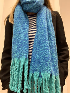 Supersoft Scarf - Blue