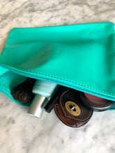 Load image into Gallery viewer, Leather Pouch - Aqua