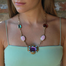 Load image into Gallery viewer, Large Gem Necklace