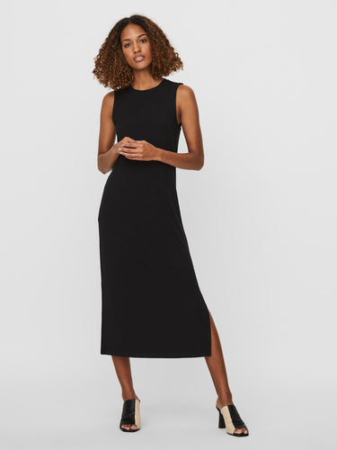 Vero Moda Rib Dress - Black