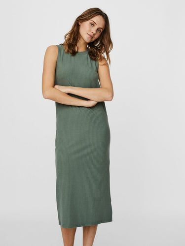 Vero Moda Rib Dress - Khaki