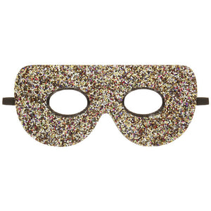 Let her be a hero for the day with this dazzling rainbow glitter superhero mask!  With a comfortable elastic strap to go round the head and the chunkiest and most colourful glitter, this spectacular mask will bring hours of fun and is a super gift idea!