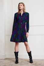 Load image into Gallery viewer, Fabienne Chapot shirt dress.  Hayley dress in leopard print
