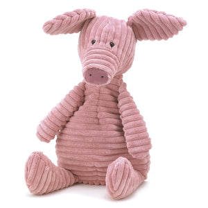 This Cordy Roy Pig is a favourite, all cordy and cosy!  Suitable from birth.  Hand wash only.  By Jellycat