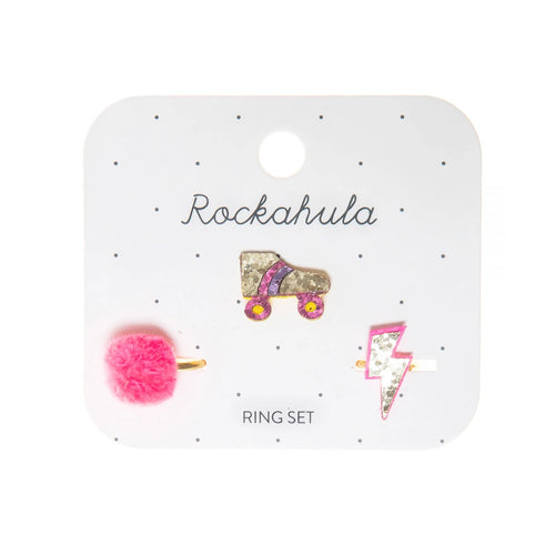 Rockahula Disco Ring Set