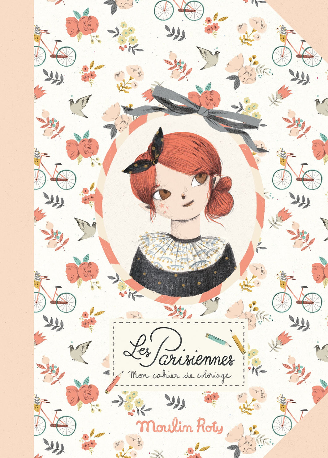 Moulin Roty Colouring book Les Parisiennes