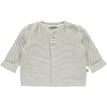 Load image into Gallery viewer, The Little Talior Soft Grey Cardigan