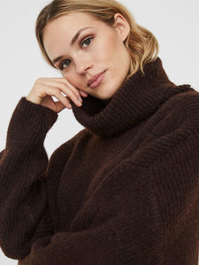 Vero Moda High Neck Knitted Pullover