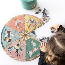 Load image into Gallery viewer, Moulin Roty Carousel Puzzle