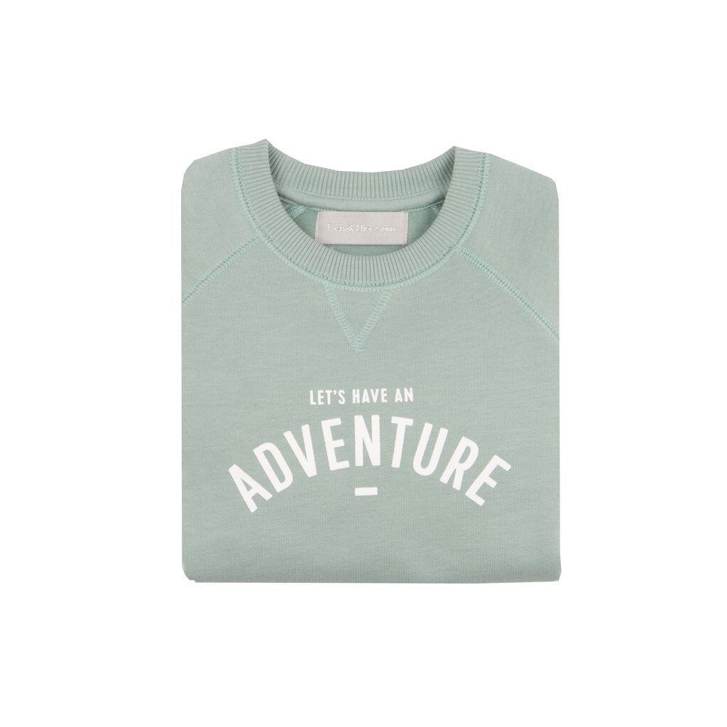 Bob & Blossom 'Lets Have An Adventure' Sweatshirt