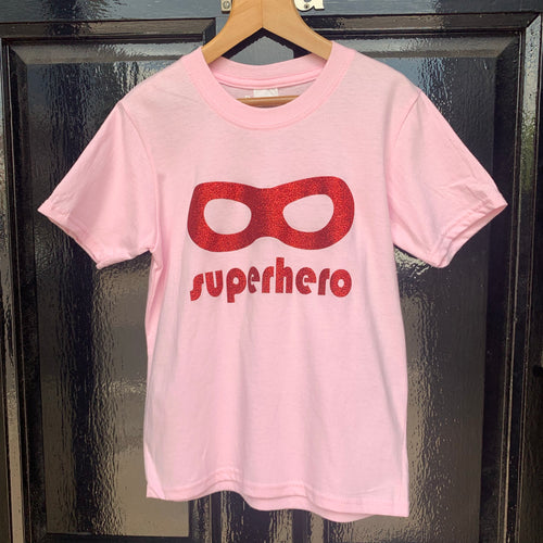 Delphine Fox Superhero T-Shirt Pink