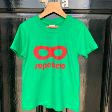 Load image into Gallery viewer, Delphine Fox Superhero T-Shirt Green