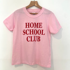 Delphine Fox 'HOME SCHOOL CLUB' Tee