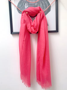 Scarf - Bright Pink