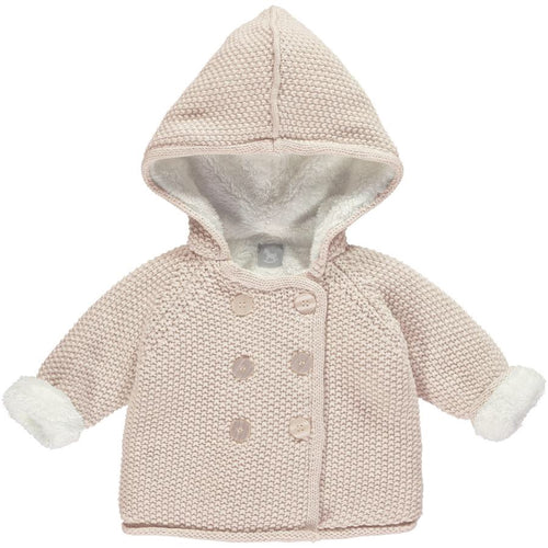 The Little Tailor Pink Pram Coat