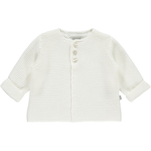 Load image into Gallery viewer, The Litttle Tailor White Cardigan