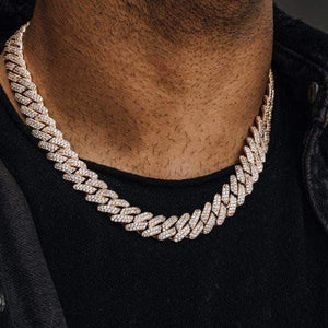 13mm Big Clasp Prong Cuban Link
