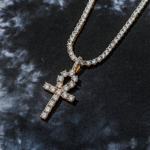 IcedOut Ankh Cross