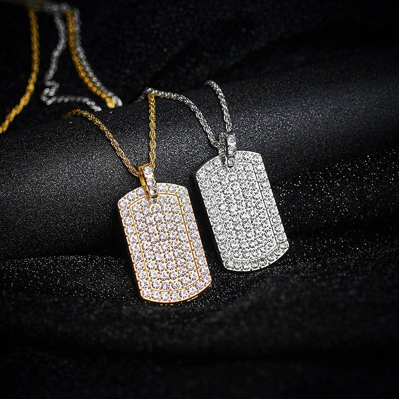 IcedOut Dog Tag