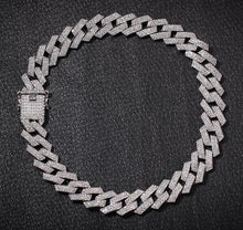 Load image into Gallery viewer, IcedOut Prong Cuban Link