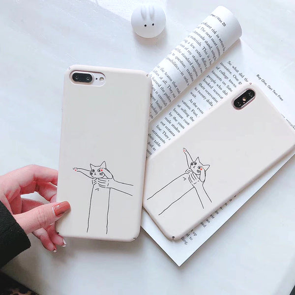 Hold my Kitty Phone Case-The Meow Lab
