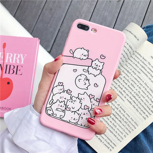 Bottle of Love Phone Case-The Meow Lab