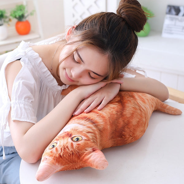 Ginger Realistic Plush Toy - The Meow Lab