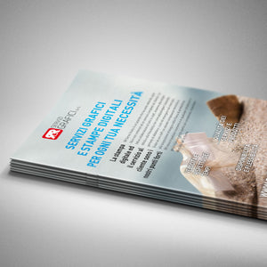 Brochure A4 autocopertinate