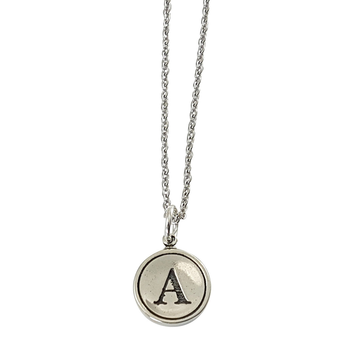 Initial Letter Charm Necklace - Gwen Delicious Jewelry Designs