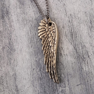 Angel Wing Necklace - Gwen Delicious Jewelry Designs