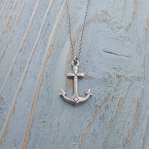 Anchor Necklace - Gwen Delicious Jewelry Designs