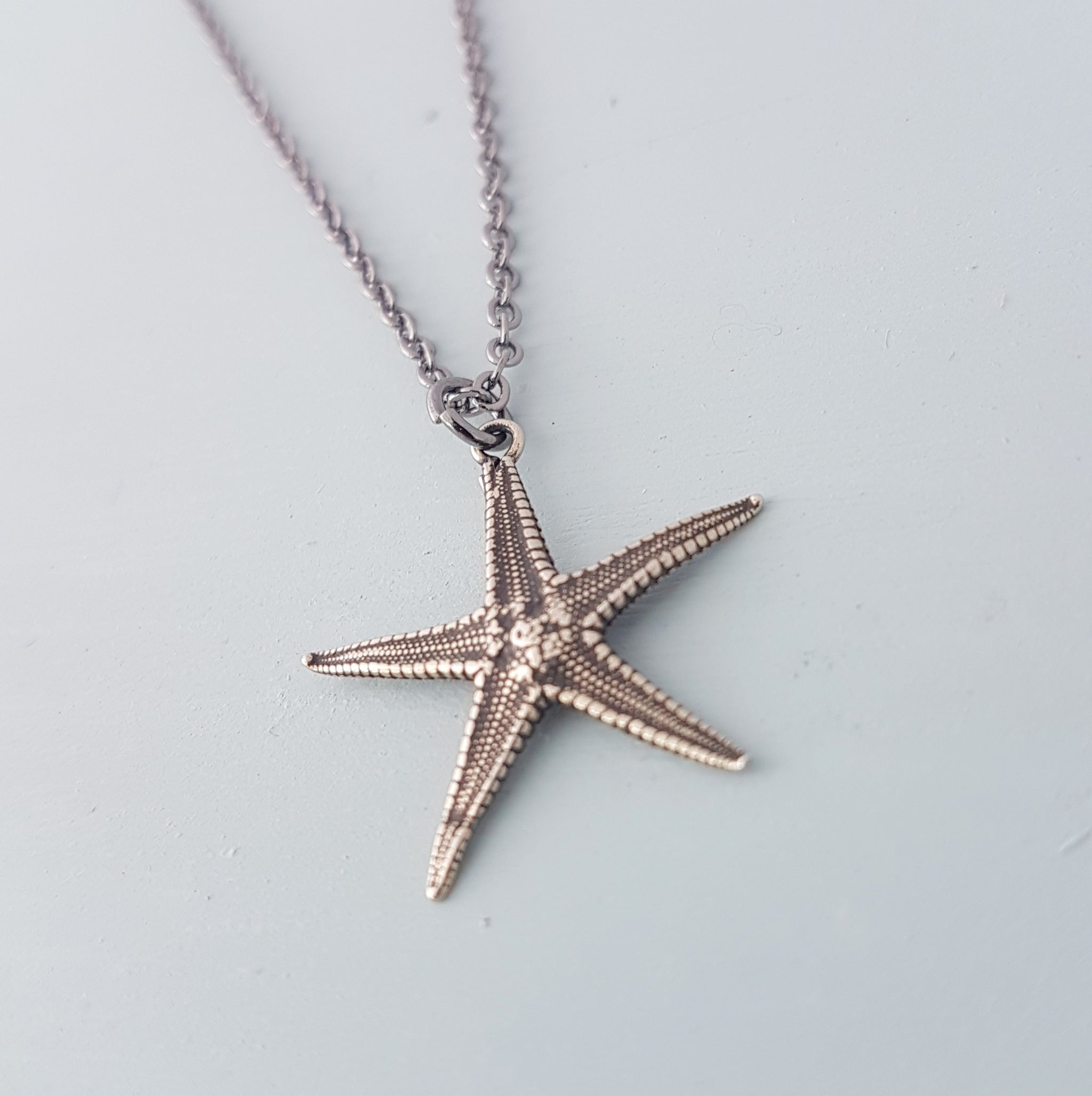 Starfish Necklace - Gwen Delicious Jewelry Designs