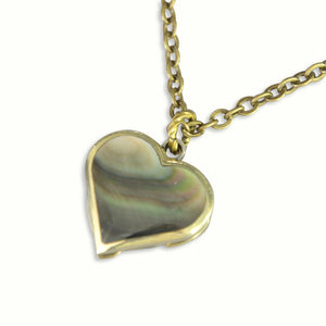 Tiny Secret Heart Double Knife Necklace - Gwen Delicious Jewelry Designs