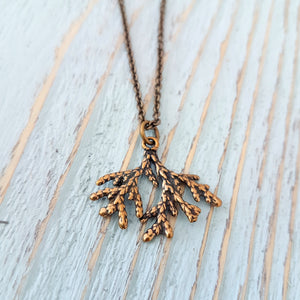 Cedar Necklace - Gwen Delicious Jewelry Designs