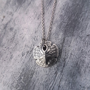 Sand Dollar Necklace - Gwen Delicious Jewelry Designs