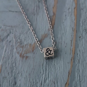 Ampersand Necklace - Gwen Delicious Jewelry Designs