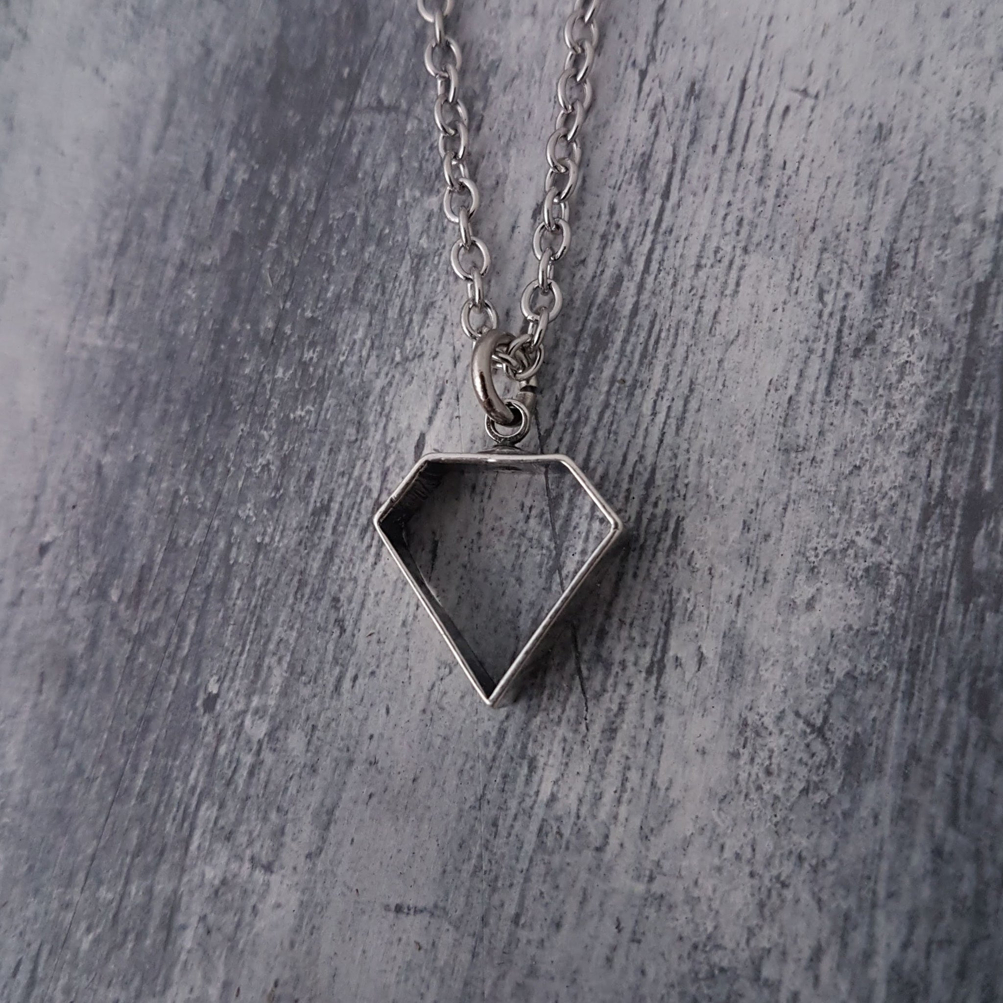 Poor Mans Diamond Necklace - Gwen Delicious Jewelry Designs