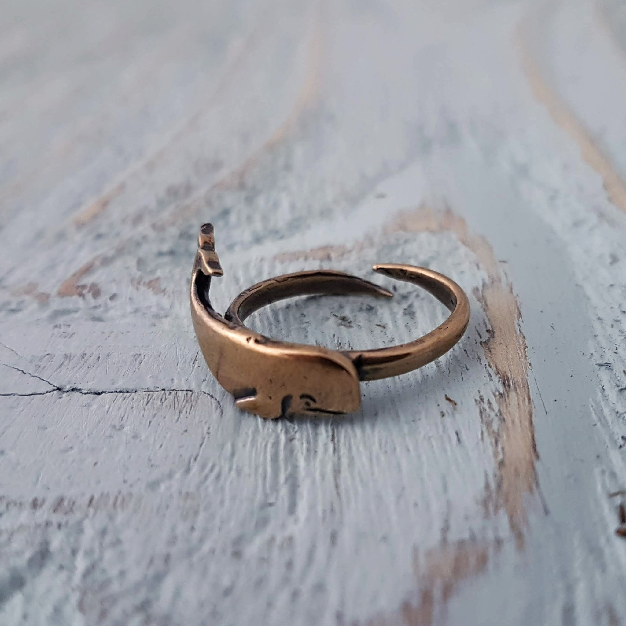 Whale Ring - Gwen Delicious Jewelry Designs