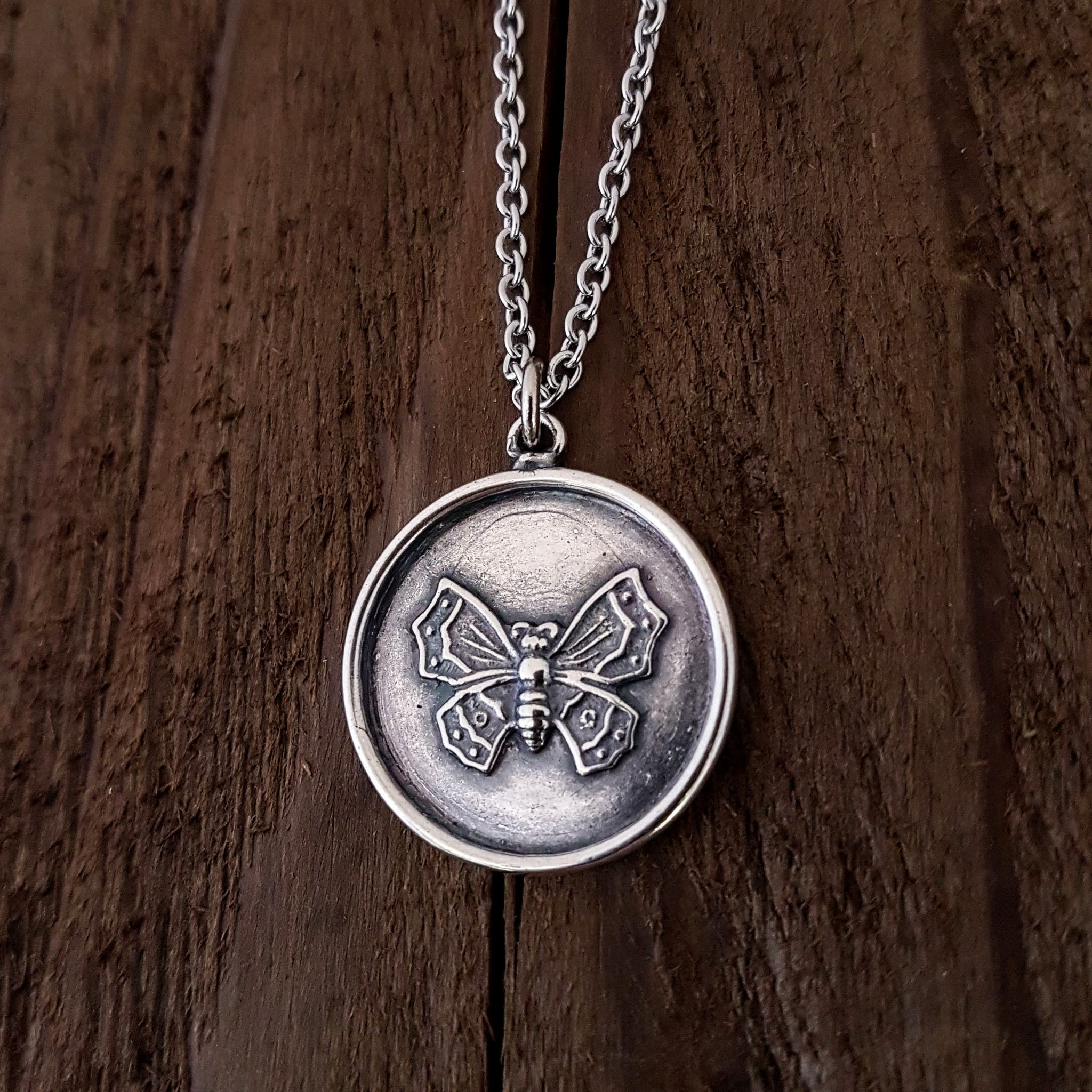Butterfly  Necklace - Gwen Delicious Jewelry Designs