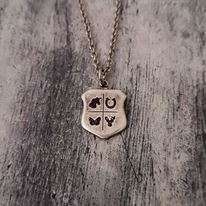 Custom Engraved Necklace -  Personalized Mother Necklace, - Gwen Delicious Jewelry Designs