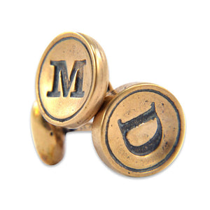 Personalized Cuff Links - Gwen Delicious Jewelry Designs