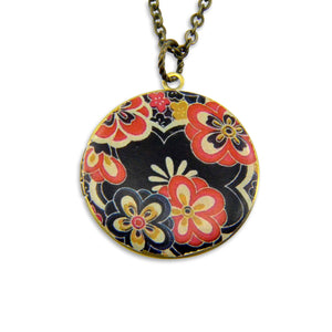 The 1960's Vintage Theme Photo Locket - Gwen Delicious Jewelry Designs