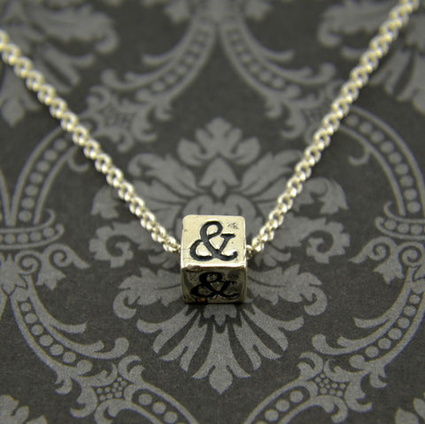 Ampersand Necklace