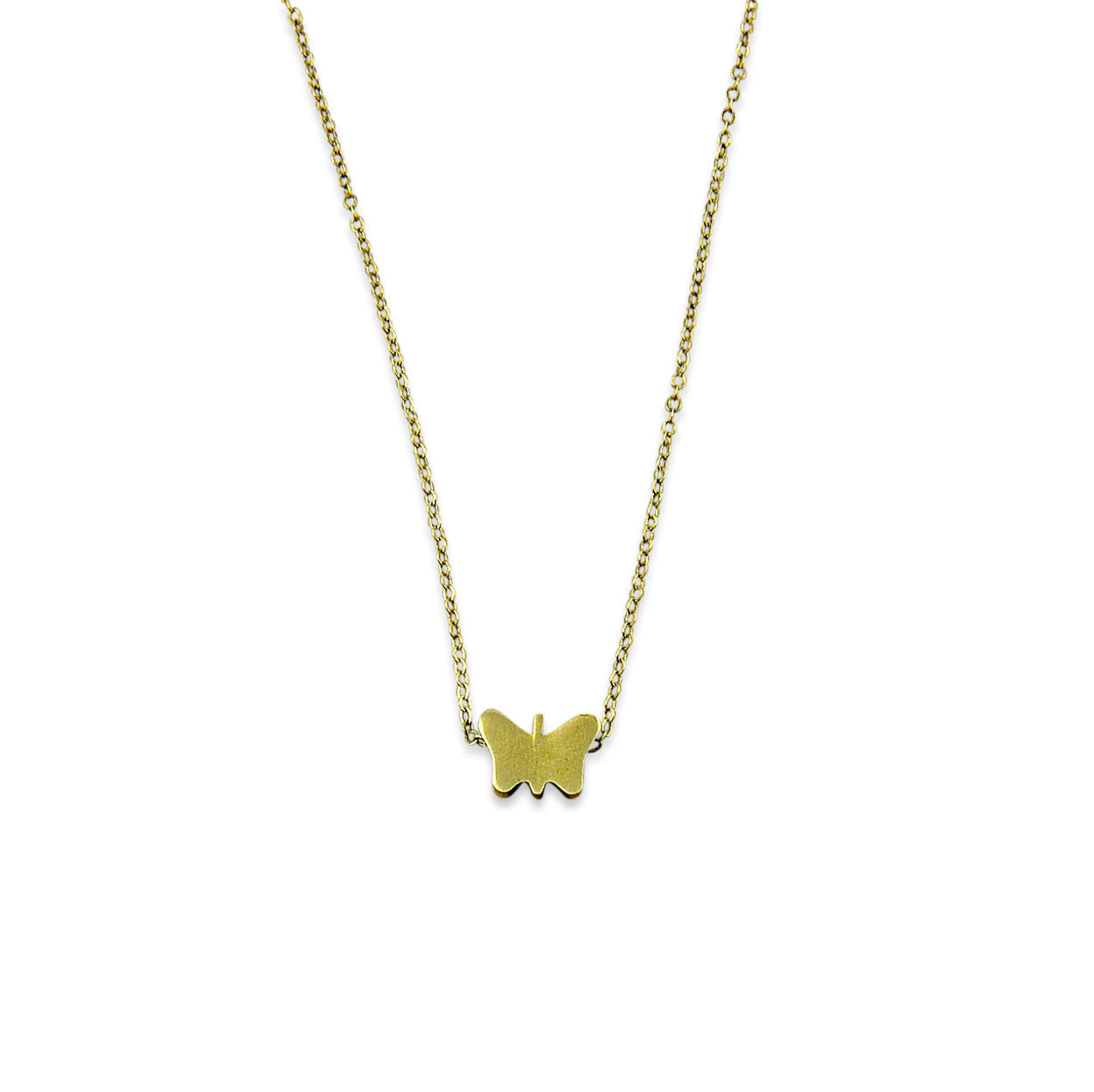 Tiny Butterfly Necklace - Gwen Delicious Jewelry Designs