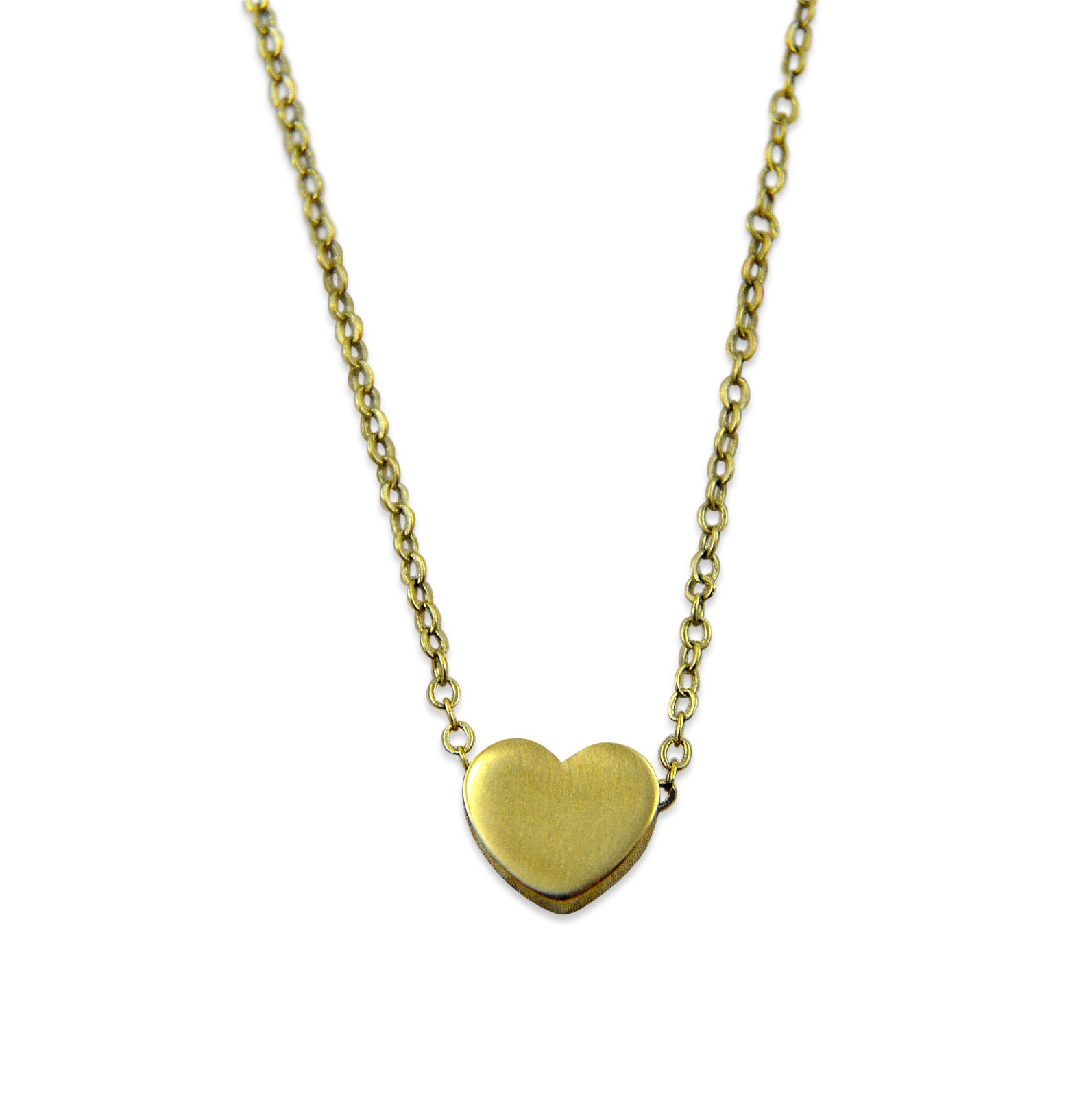 Tiny Heart Necklace - Gwen Delicious Jewelry Designs