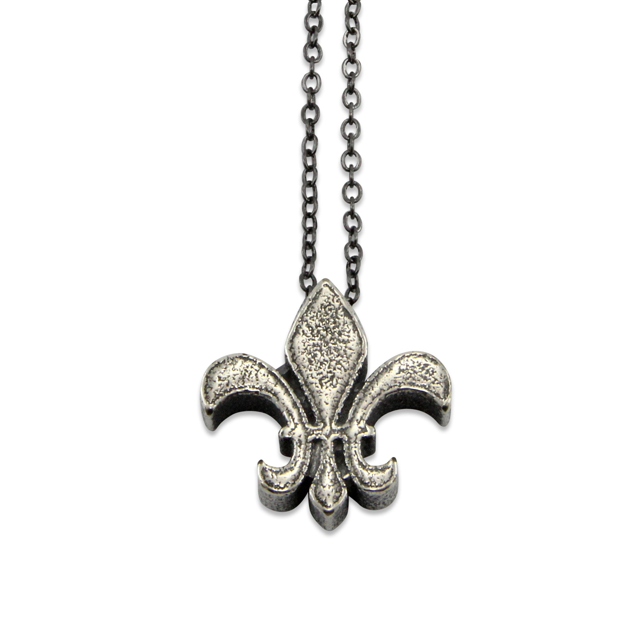 Fleur De Lis Necklace - Gwen Delicious Jewelry Designs