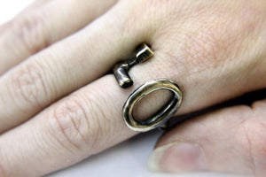 Skeleton Key Ring - Gwen Delicious Jewelry Designs
